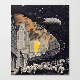 Sheeple Canvas Print