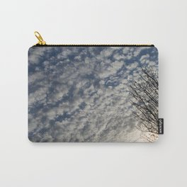 Spring Clouds Carry-All Pouch
