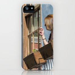 Las Palmas Balcony iPhone Case