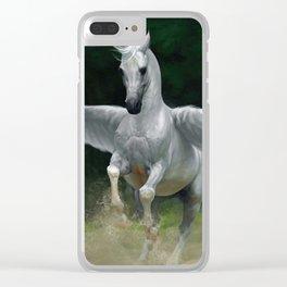 Pegasus Clear iPhone Case