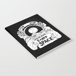Major Spaceman Notebook