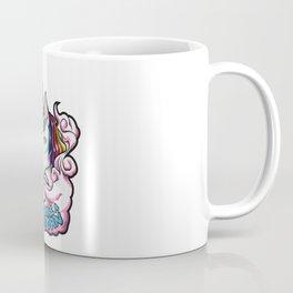 Vape Like A Unicorn   Cloud Chaser Illustration Coffee Mug