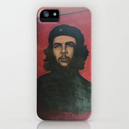 Che Guevara In A Havana Doorway iPhone Case