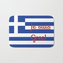 je suis Grec Bath Mat