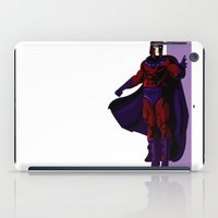 magneto iPad Cases featuring Magneto by Andrew Formosa