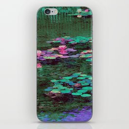Beverly Hills Water Lily iPhone Skin
