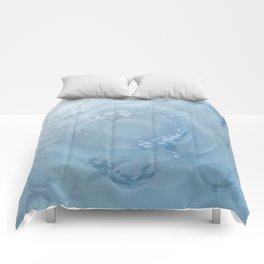 Koi Fish Aquarium Comforters
