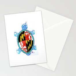 Race Me Home To Maryland Stationery Cards