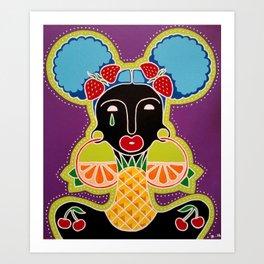 Fruity Loops Art Print