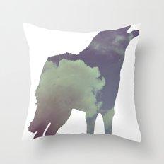 The Wolf (Jannika Edition) Throw Pillow