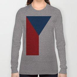 Flag of Czech Republic Long Sleeve T-shirt