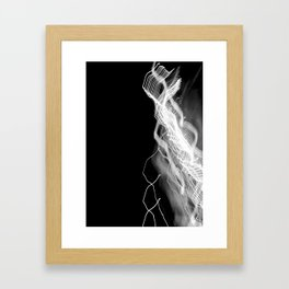 network Framed Art Print