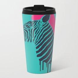 Zebra's Not Dead II Metal Travel Mug