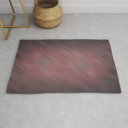 Abstract Soft Watercolor Gradient Blend Graphic Design 13 Red, White and Black Rug
