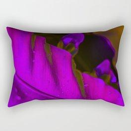 The Night Garden Magenta Rectangular Pillow