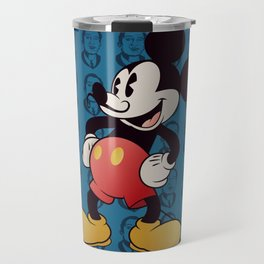 Blue Dali Travel Mug
