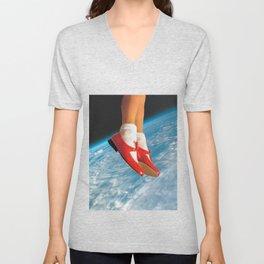 The shoes Unisex V-Neck