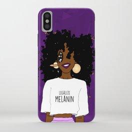 LEGALIZE MELANIN (D) iPhone Case