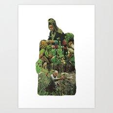 Cross Polination Art Print