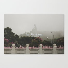 Hong Kong Tian Tan Buddha Canvas Print