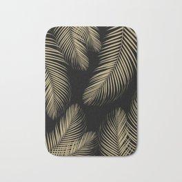 Palm Leaves - Gold Cali Vibes #4 #tropical #decor #art #society6 Bath Mat