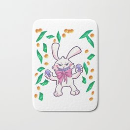 Easter Bunny Easter Egg windfall gift Bath Mat