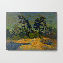 Tom Thomson Byng Inlet Georgian Bay winter 1914-1915 Canadian Landscape Artist Metal Print