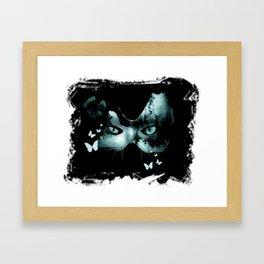 Ms. Kat Framed Art Print