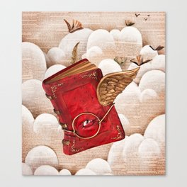 Book Heaven Canvas Print