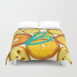 Citrus - Citron (Recettes du Bonheur) Duvet Cover