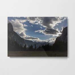 Yosemite Valley (centre) Metal Print