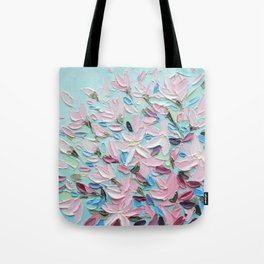 District  Blooms Tote Bag