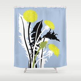 Flower Market Berlin Shower Curtain