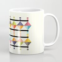 polygon Mugs featuring Polygon by Sudário