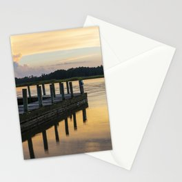 Sunset at the Denbigh Boat Ramp II Stationery Cards