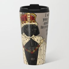 Oceans Rise. Rebellions Fail. Metal Travel Mug