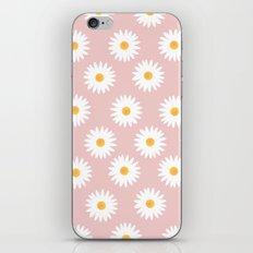 Quartz rose daisy pattern iPhone & iPod Skin