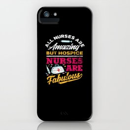Palliative Nurse iPhone Case