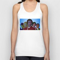 anchorman Tank Tops featuring Anchorman by CultureCloth