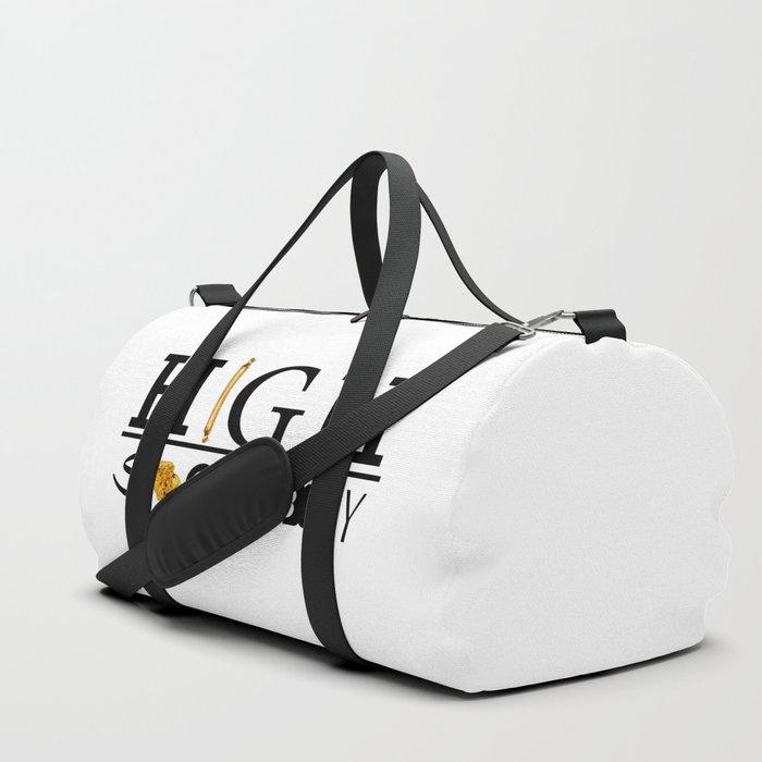 High Society Logo2 Duffle Bag