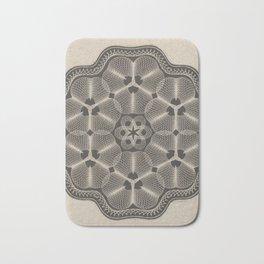 Bank Note Design Bath Mat