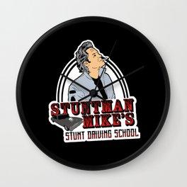Stuntman Mike's stunt school  Wall Clock