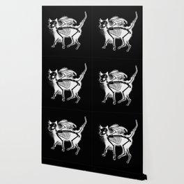 Devil Kitty - inverted Wallpaper