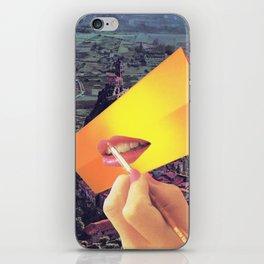 Pleasure Correlation Upgrade iPhone Skin