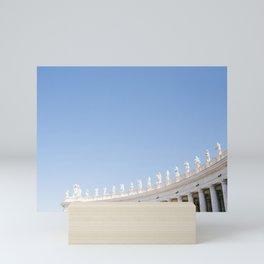 Rome 0001: Saint Peters Square, Piazza San Pietro, Vatican City, Rome, Italy Mini Art Print