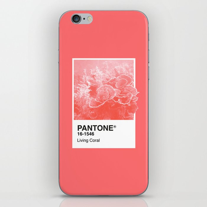 Pantone Series – Living Coral iPhone Skin