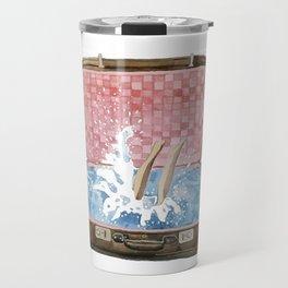 travel to the sea Travel Mug