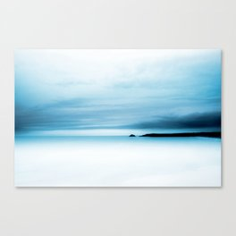 cool blue sea Canvas Print