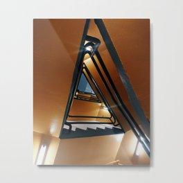 Orangular Metal Print