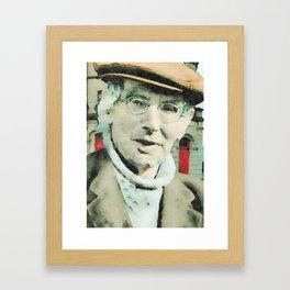 Seán O'Casey 1880-1964 Framed Art Print